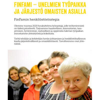 FinFamin henkilöstöstrategia