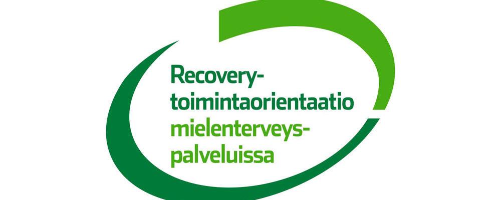 Recovery-toimintaorientaatio mielenterveyspalveluissa -hankkeen logo